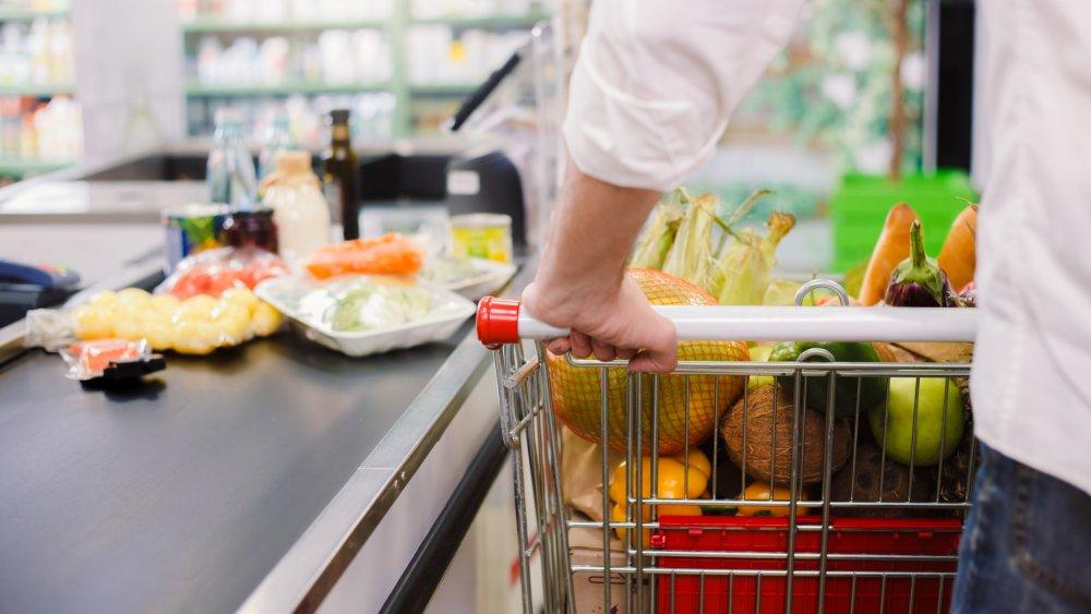 shpoping cart at checkout