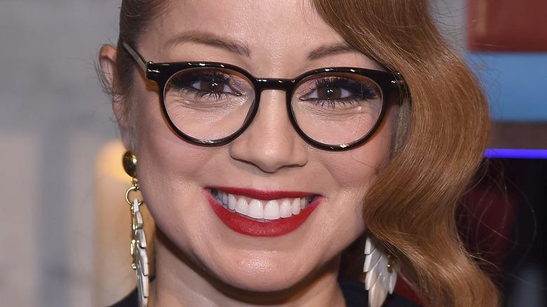 Marcela Valladolid smiling in glasses