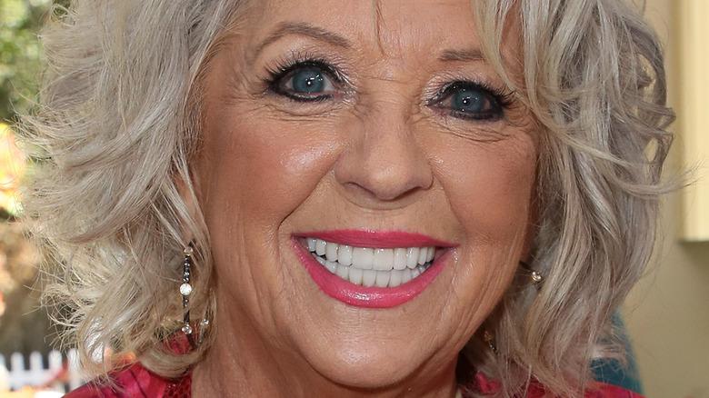 Paula Deen smiling