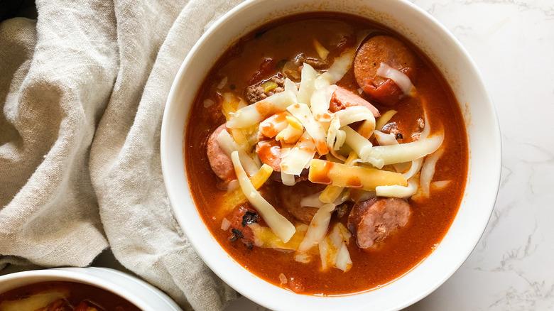 bowl of cowboy stew