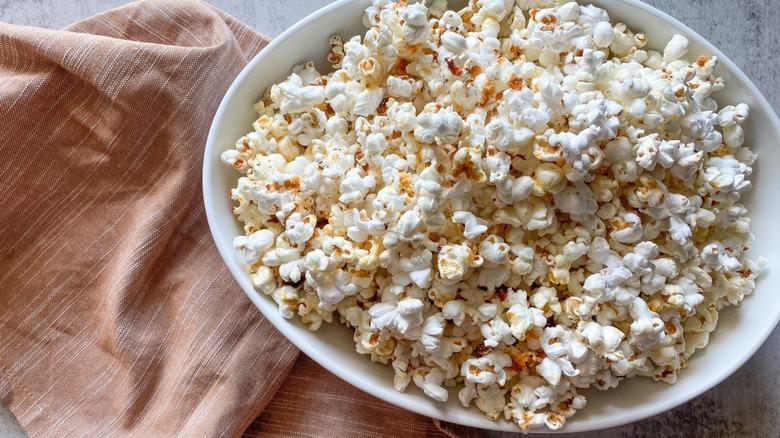 Bowl of kettle corn