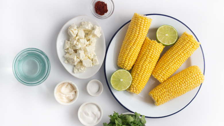 Instant pot Mexican street corn ingredients