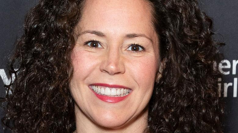 Stephanie Izard smiling at event