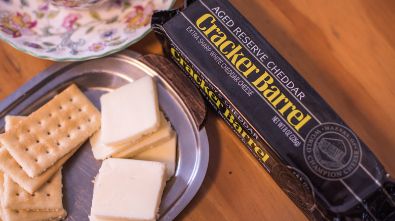 Cracker Barrel cheese