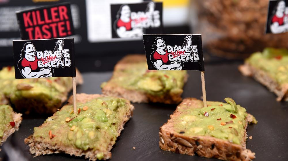 Dave's Killer Bread avocado toast