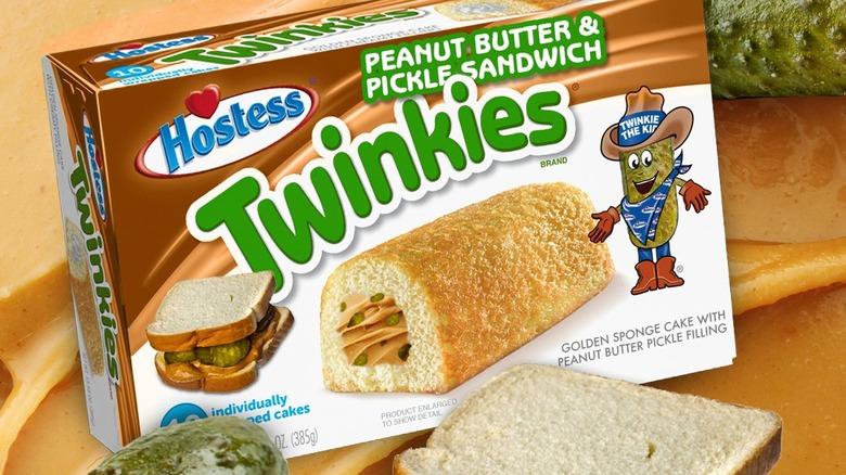 Peanut Butter & Pickle Twinkie Box