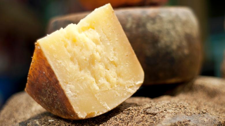 Aged Pecorino Romano cheese