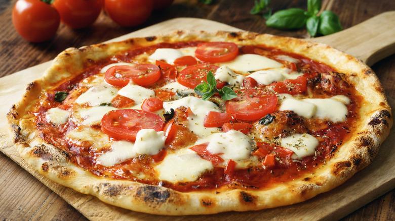 hot margherita pizza