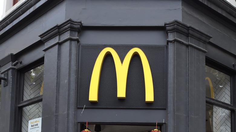 McDonalds exterior  in Melbourne, Australia