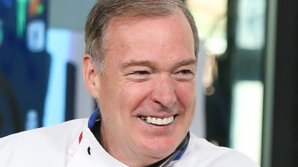 Jacques Torres smiling during interview