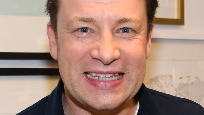 Close-up photo of Jamie Oliver