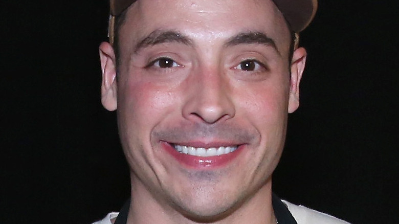 Jeff Mauro in hat