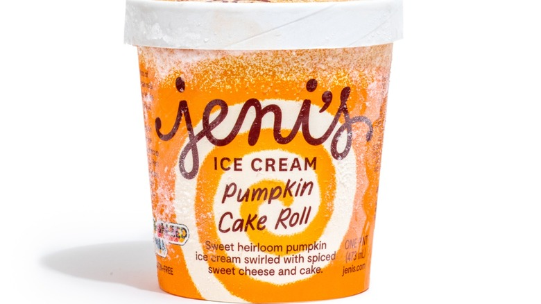 Jeni's Pumpkin Cake Roll Pint