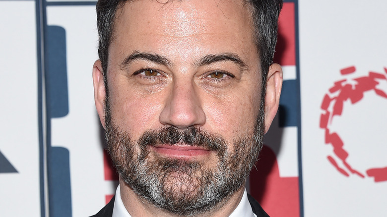Closeup of Jimmy Kimmel