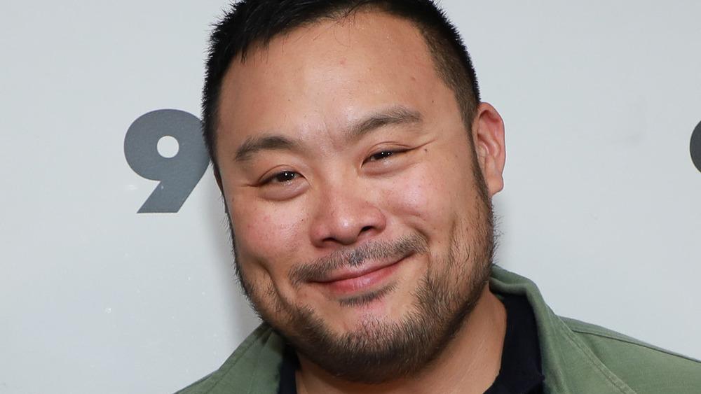 Chef David Chang smiling