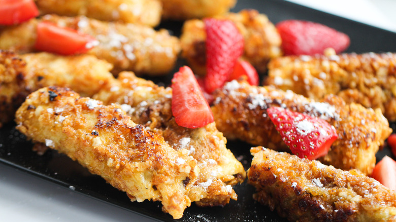 Joanna Gaines french toast crunch with a twist on plate