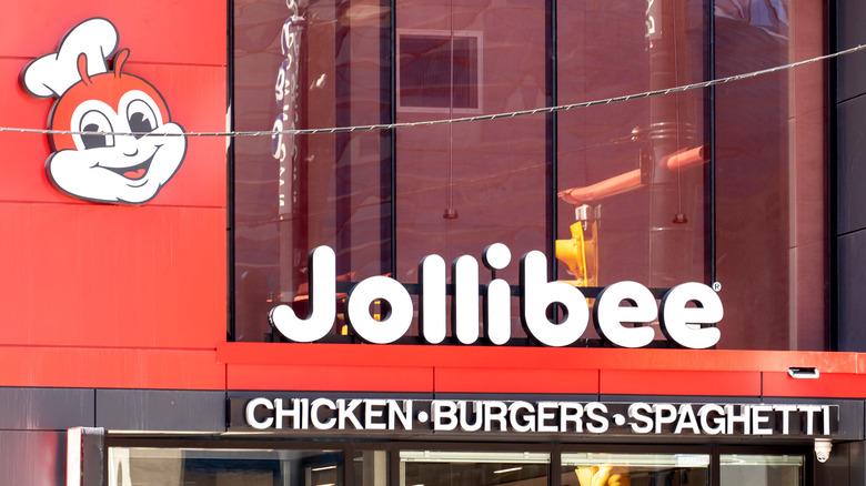 Jollibee restaurant exterior in Toronto