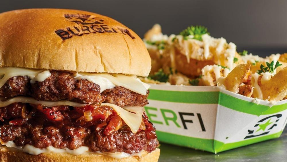 BurgerFi food