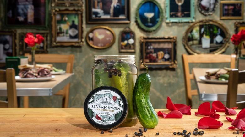 Katz's Delicatessen x Hendrick's gin pickles