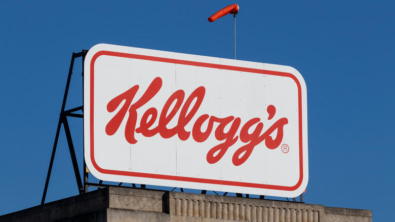 A Kellogg's sign