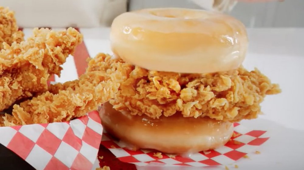 Kentucky Fried Chicken and Donuts