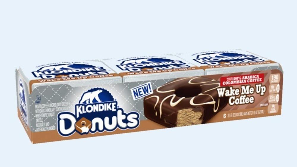 Box of Klondike Wake Me Up Coffee bars