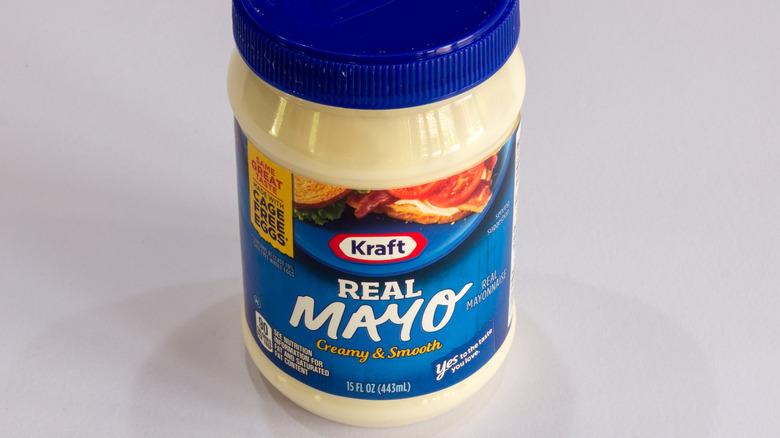 Jar of Kraft Mayo