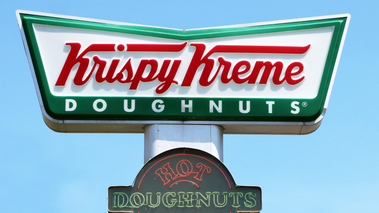 Krispy Kreme doughnuts boxed