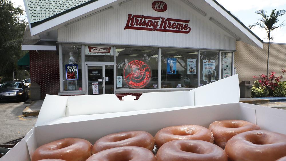 Krispy Kreme and donuts