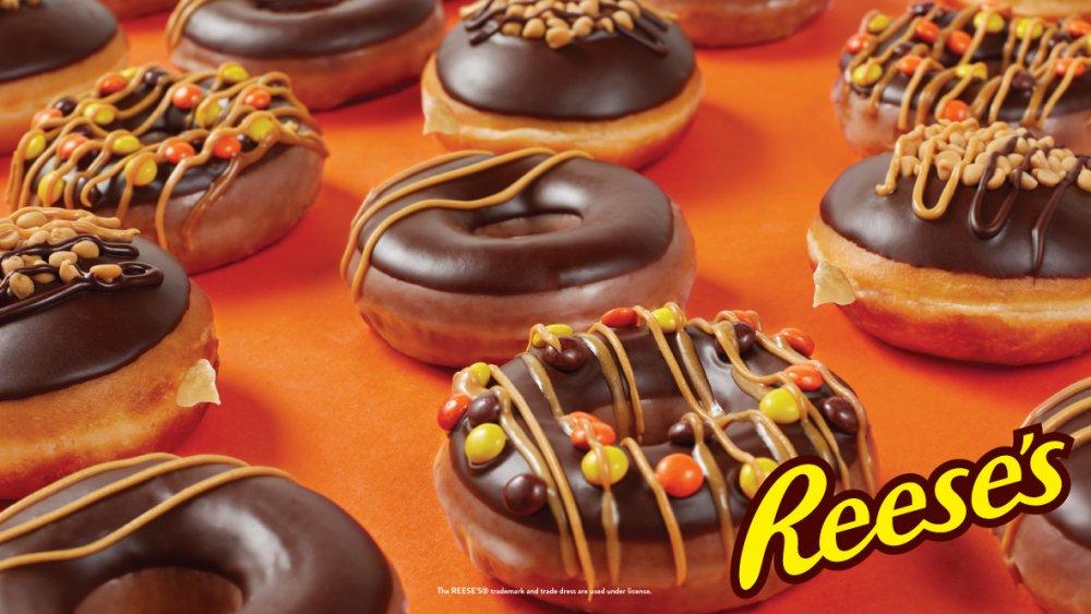 Krispy Kreme Resee's Doughnuts