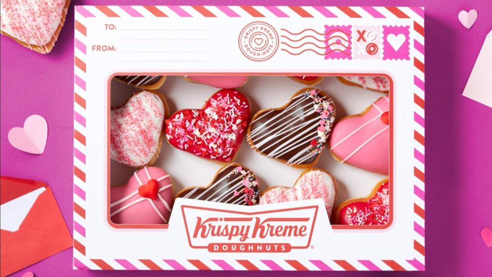 "Krispy Kreme ""Dough-note"" for Valentine's Day"