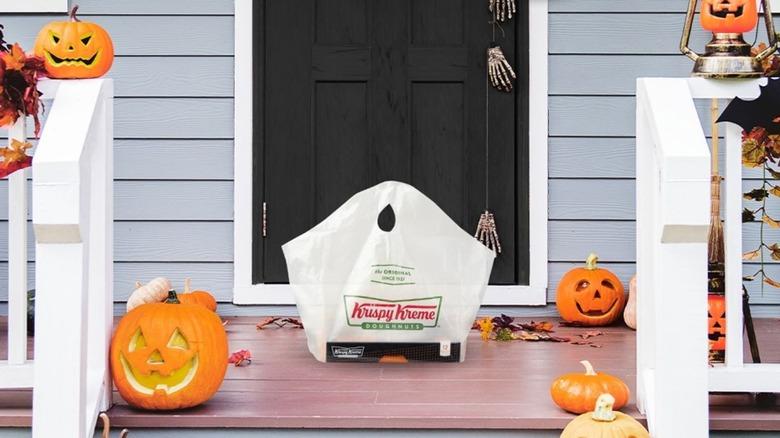 Krispy Kreme Donuts in package