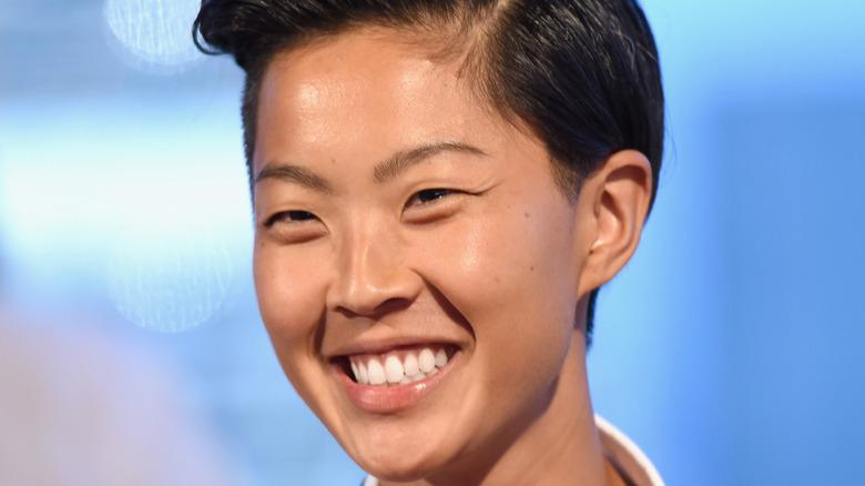 Chef Kristen Kish smiling