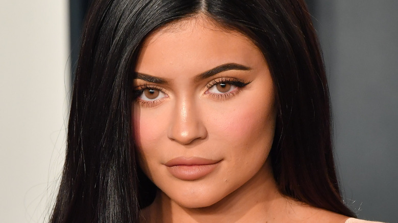 Kylie Jenner close-up