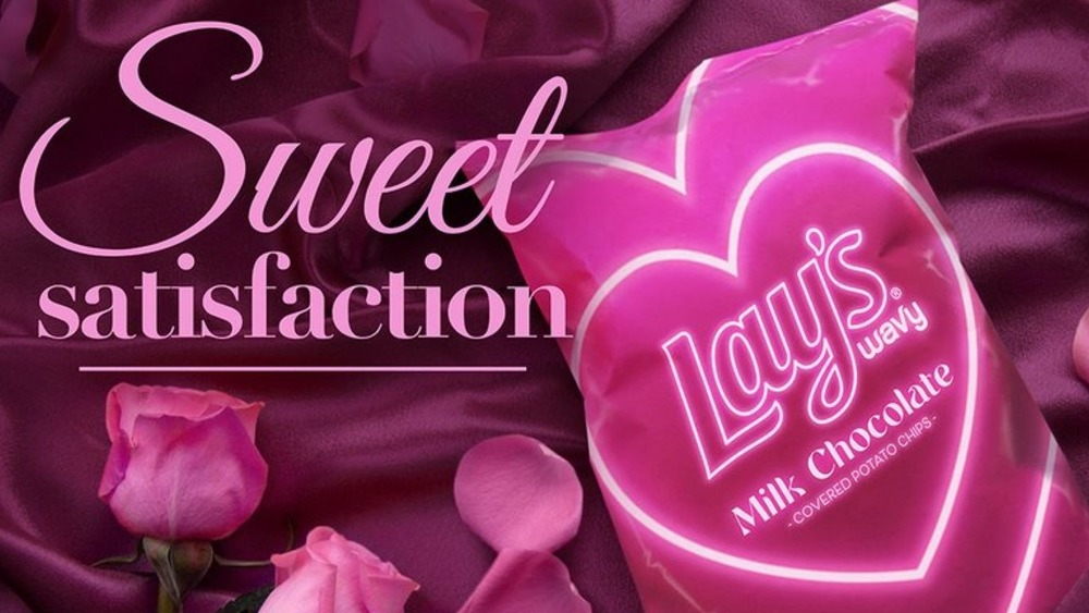 Wavy Lays Valentine's bag