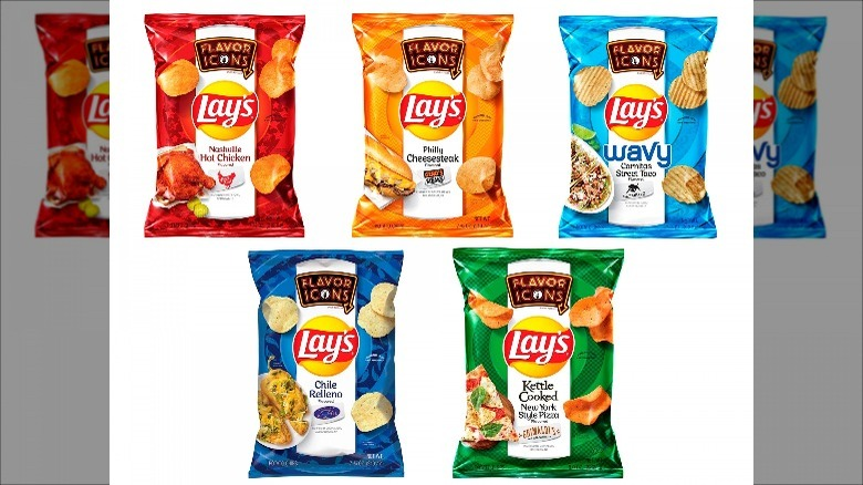 Lay's Flavor Icons Line