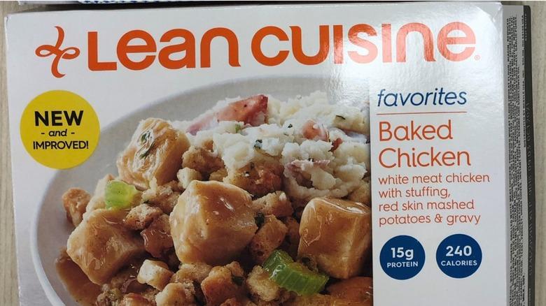 Lean Cuisine chicken meal