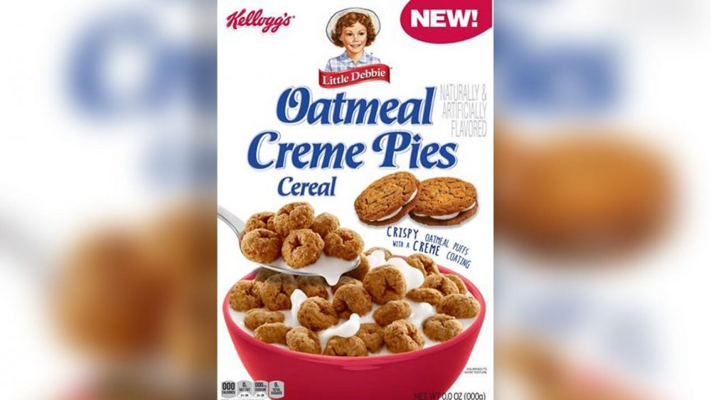 Little Debbie's Oatmeal Creme Pies Cereal