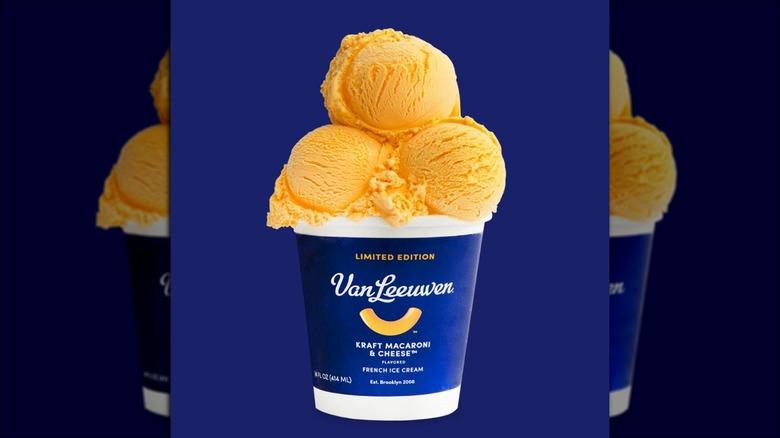 Van Leeuwen macaroni and cheese ice cream