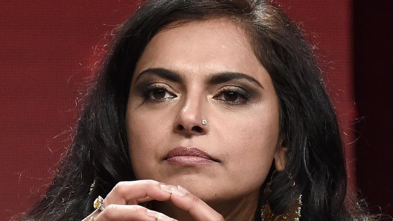 A close-up of Maneet Chauhan