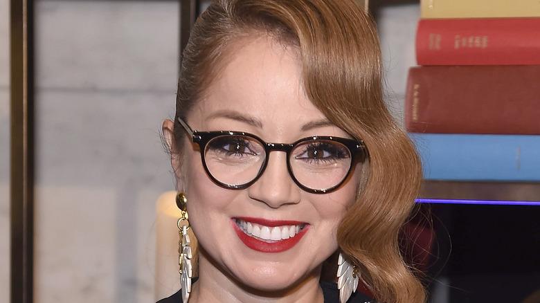 Marcella Valladolid smiling in glasses
