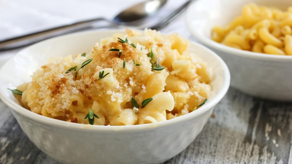 Classy lookig macaroni and cheese