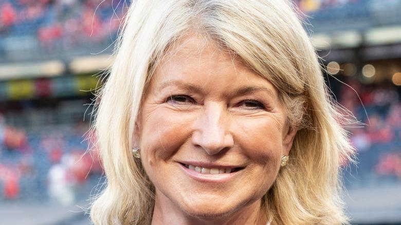 Martha Stewart smiles for the camera