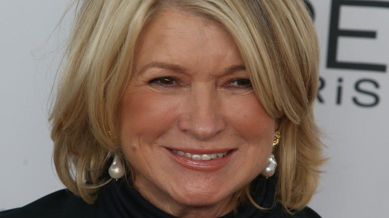 Martha Stewart smiling at an event