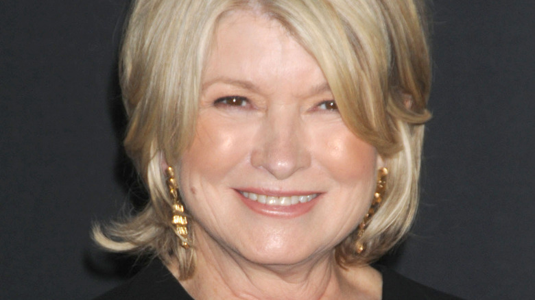 smiling Martha Stewart