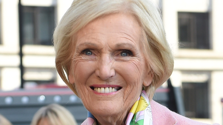 Mary Berry smiling at an event