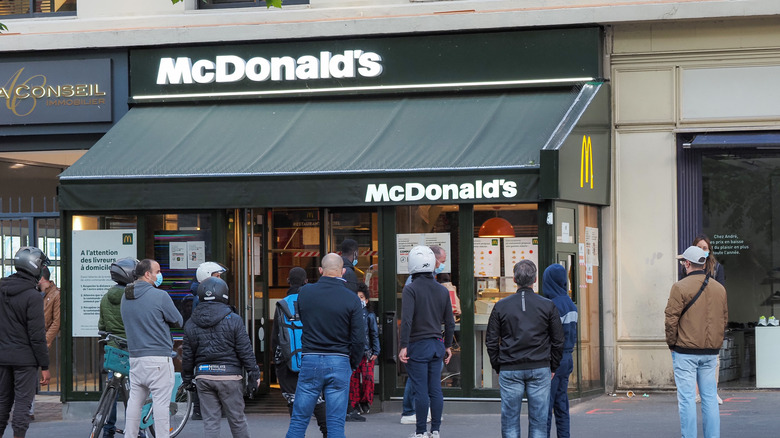 McDonald's location in France