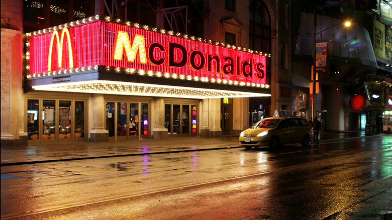 McDonald's Night City