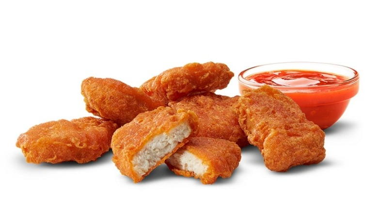 Spicy McNuggets and Sauce