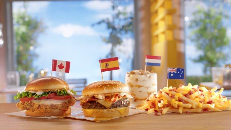 McDonald's Worldwide Favorites Menu